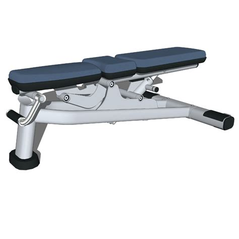 lifefitness bench multi adjustable bench 3d model formfonts 3d models