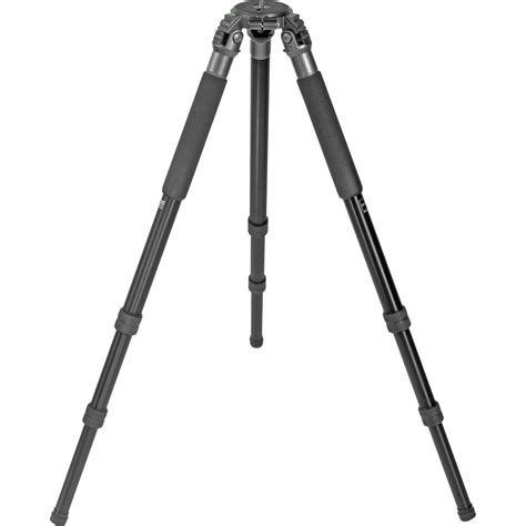 Tripod Stand 4 Section Aluminum Legs With Brace Silverblack gitzo gt4330ls 3 section aluminum tripod legs gt4330ls b h photo