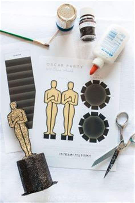 How To Make An Oscar Trophy Out Of Paper - ideas on oscar oscars
