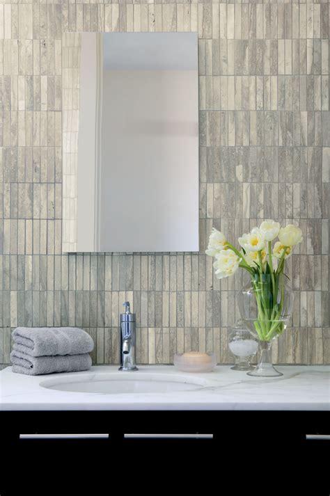 grey travertine bathroom grey bathroom vanity bathroom transitional with bathroom bench blue wall