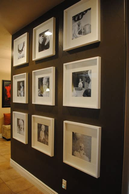 Wall Picture Frames For Living Room by Living Room Restyle Inspiration A Wall With These