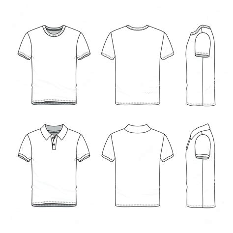 Template Fashion Design Template Male Fashion Design T Shirt Templates