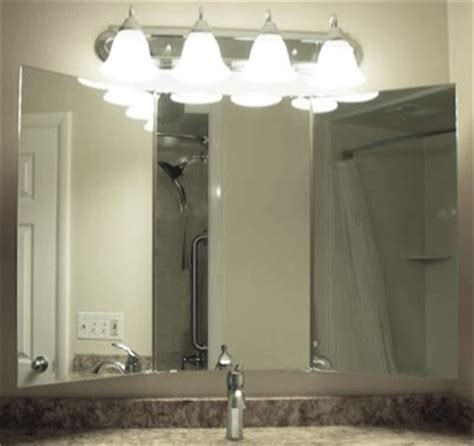 tri fold mirrors bathroom tri fold bathroom mirror the trifolding vanity and