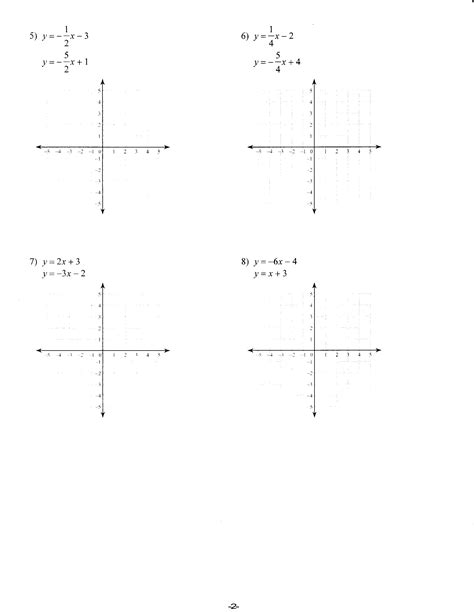 graphing y mx b worksheet worksheets mrs lay s webpage 2011 12