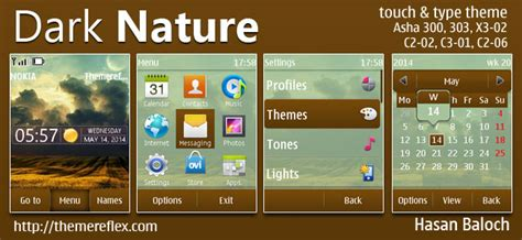 nokia x2 nature themes dark nature live theme for nokia x2 00 x2 02 x2 05 x3