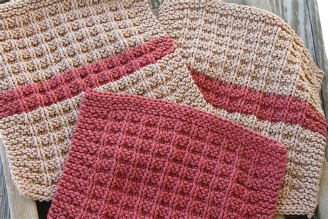 waffle knit dishcloth pattern en francais 17 best images about dishcloth on pinterest free pattern