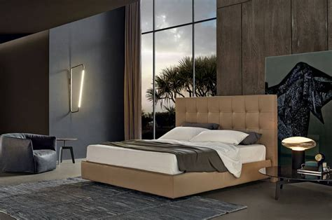 poliform camere da letto letto arca poliform tomassini arredamenti