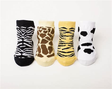 Animal Socks set of four animal baby socks by diddywear notonthehighstreet