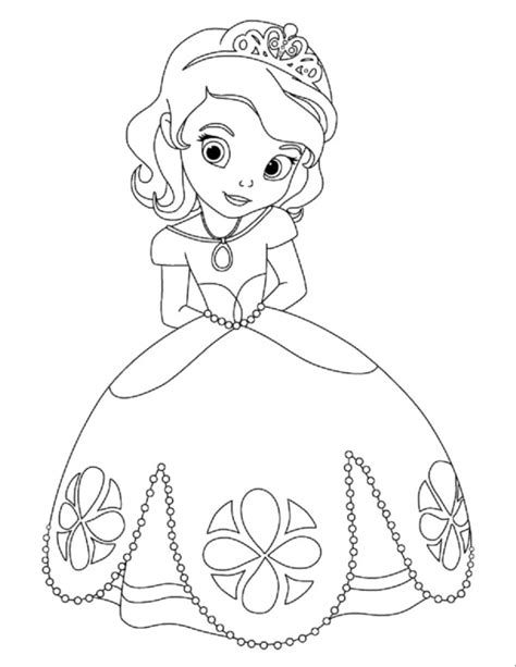 Free Coloring Pages Of Disney Baby Princesses Coloring Pages Of Baby Princesses