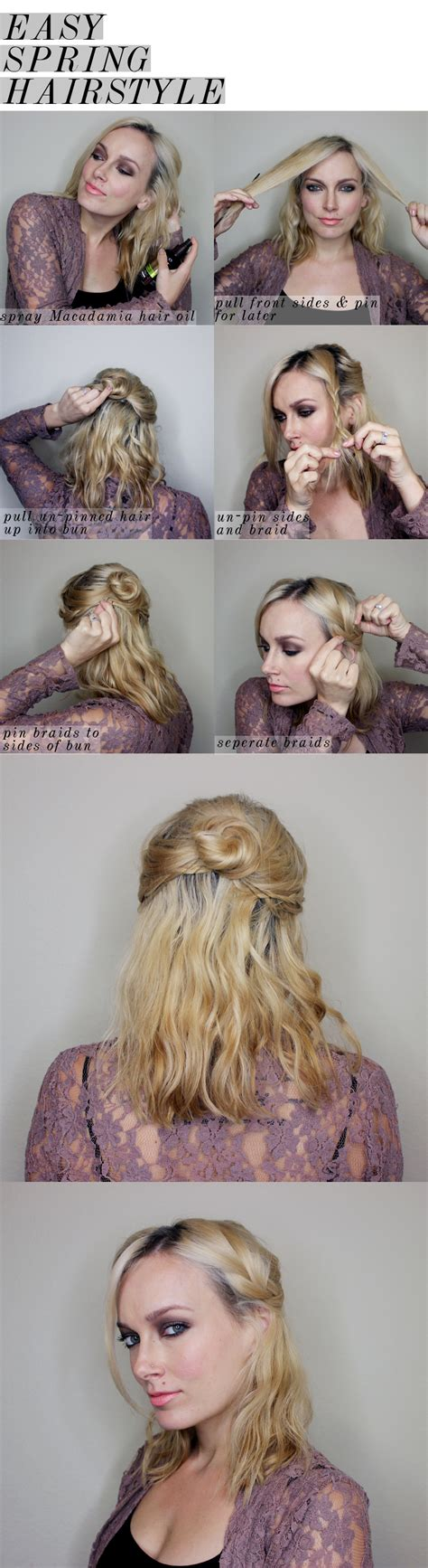 hair 2015 style spring cute step by hairstyles for medium length hair hairstyles