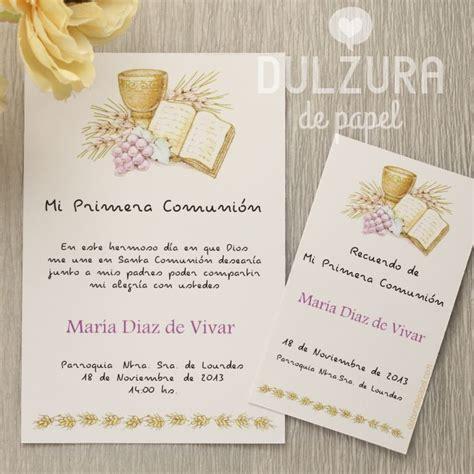 invitaciones primera comuni n tarjetas e invitaciones 20 best images about primera comunion first communion on