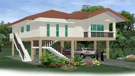 floor house house on stilts floor plans homes on stilts house plans