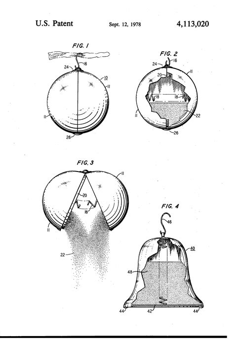 christmas tree fire extinguisher patent us4113020 safety ornament patents