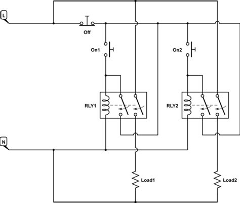 image gallery latching relay symbol