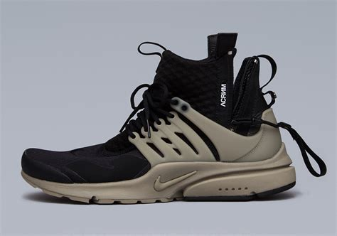 Sepatu Nike Air Presto Acronym Low Black White Premium Quality acronym x nike air presto mid collection sneakers cartel
