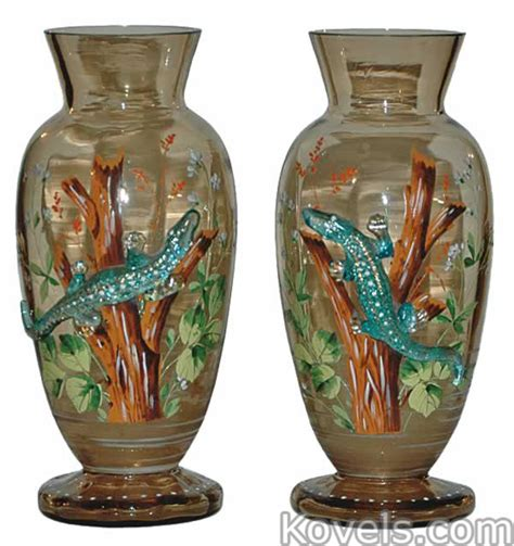antique moser glass price guide antiques