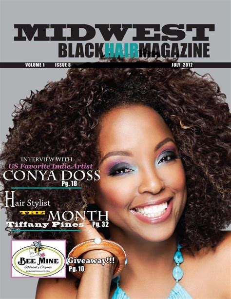 Black Hair Magazine Hairstyles 2012 by Midwest Black Hair Magazine Hairstyle 2013