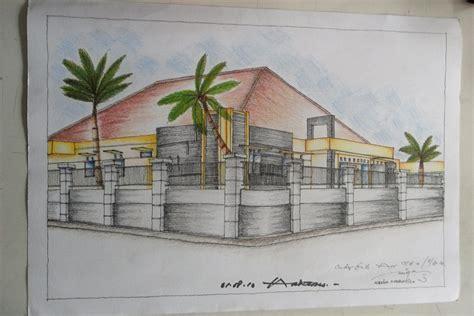 Pensil Warna 24 Joyko rumah tinggal finishing pensil warna alreiga architects