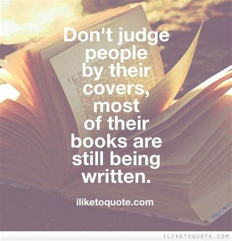 on being books don t judge by their covers most of their books