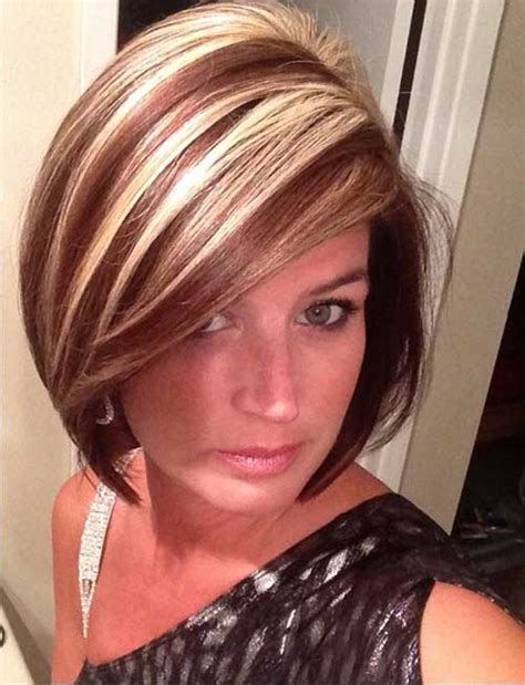 haircuts with color and highlights 20 short haircuts with highlights short hairstyles 2017