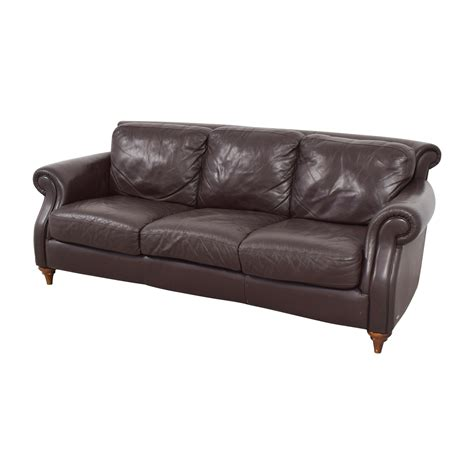 natuzzi brown leather sofa 86 natuzzi natuzzi brown leather three cushion sofa