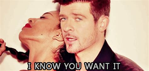 Robin Thicke Meme - we decode the emotional garth brooks statement so you don