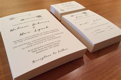 wedding invitations on cardstock wedding invitations lumber lace