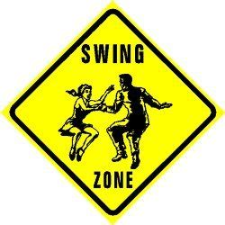 swing zone swing zone charleston sport hobby sign