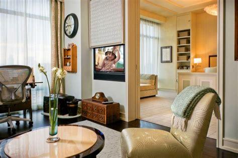 wohnzimmer fernseher verstecken neue strategien zum verstecken vom tv