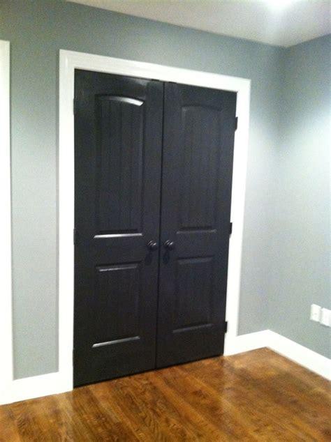 Gloss Interior Doors high gloss black interior doors black white decor