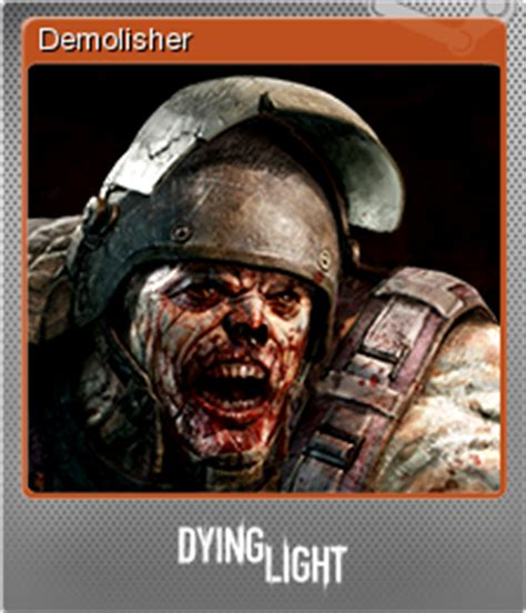 dying light demolisher steam trading cards wiki