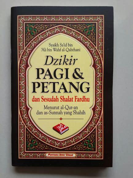 Buku Saku Dzikir Pagi Petang Dan Sesudah Shalat Fardhu 2 Warna buku saku dzikir pagi petang dan sesudah shalat fardhu
