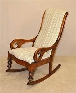 upholstered rocking chair 167048 sellingantiques co uk