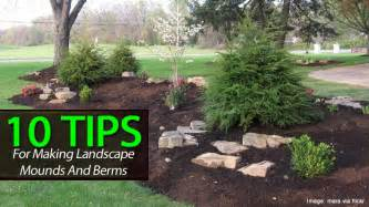 pictures of landscape mounds pdf