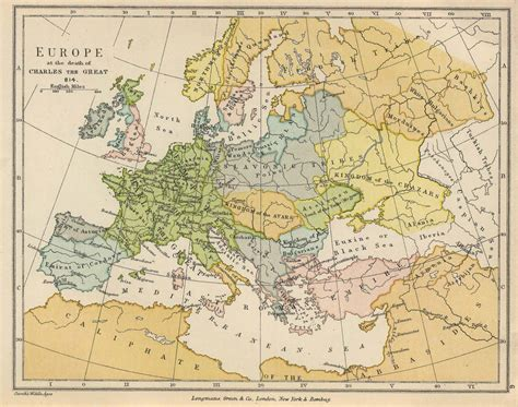 Map Of Medieval Europe by Roman Empire Europe 814 Europe 912 Europe 1135 Europe 1730