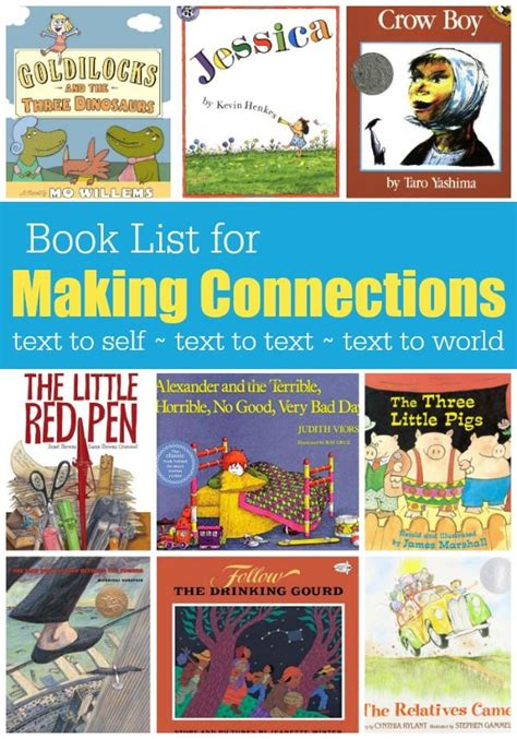 picture books to teach inference skills text connections on connections