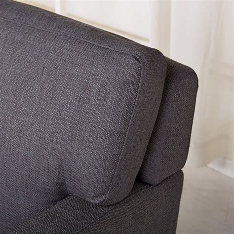 Upholstery Fabric Tulsa by Gold Sparrow Tulsa Fabric Arm Chair In Gray Adc Tul Cha