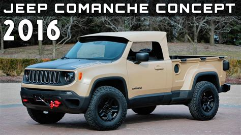 2015 Jeep Comanche Exterior Collection 15 Wallpapers