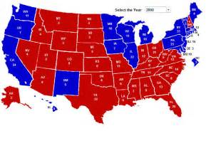 us election map 2000 electoral vote maps from 270towin political maps