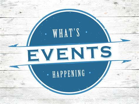 Upcoming events south atlantic