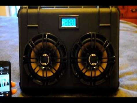 Mini Subwoofer Car Speaker Ibox 30 cal ammo can portable boombox 12v funnydog tv