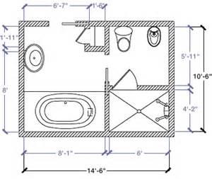 8 x 14 bathroom layout kohler canada 10 6 quot x 14 6 quot floor plan options bathroom