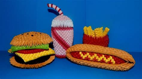 Hamburger Origami - 25 best ideas about 3d origami tutorial on