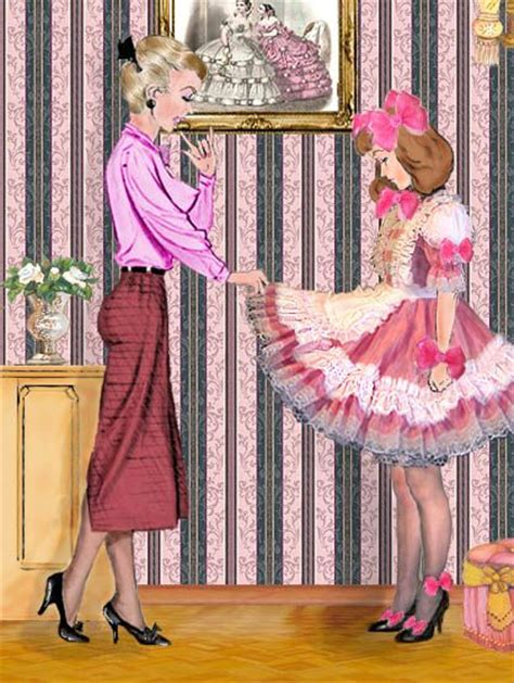 petticoat for sissy art illustration 14 crossdressing art pinterest sissi