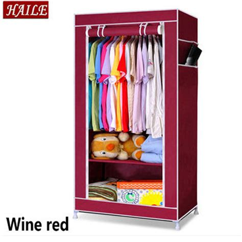 Wardrobe Cabinet For Hanging Clothes Cloth Wardrobe Folding Cabinet Portable Wardrobe Hanging