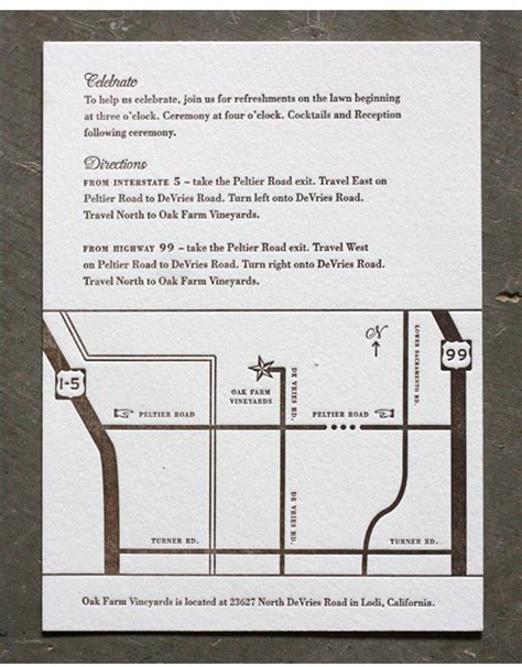 direction cards for wedding invitations template wedding invitation directions insert yourweek 5ee3bdeca25e