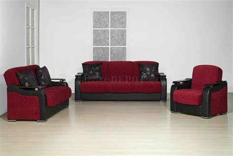 Vinyl Living Room Set Halic Fabric 3pc Living Room Set W Vinyl Details