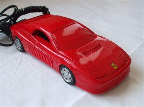 Ferrari 90er by Ferrari Formula Testarossa Telefon Italien 90er Jahre