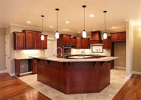 angled kitchen cabinets kitchens traditional dark wood kitchens cherry color