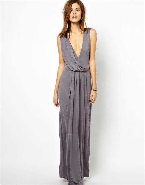 french connection drape dress french connection french connection drape maxi dress at asos